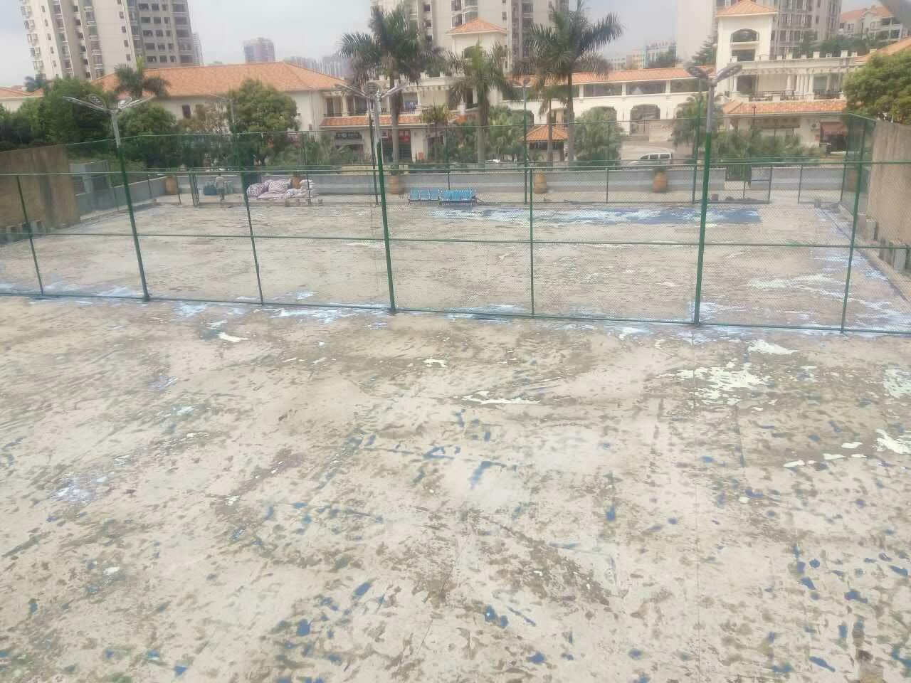 丙烯酸网球场翻新改造