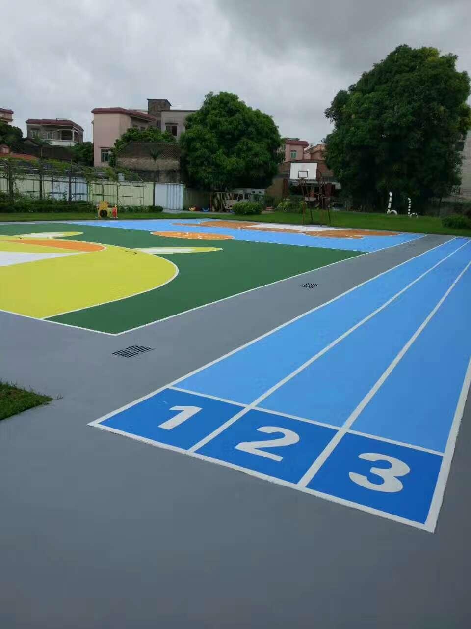 洼涂|幼儿园环保涂料|幼儿园地面专用涂料|水性丙烯酸涂料|彩色墙地