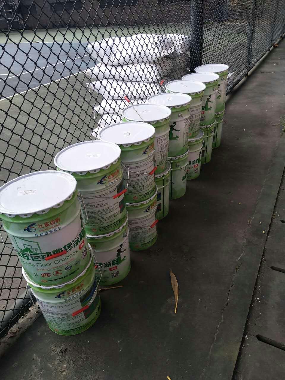 壮宸劲豹 水性丙烯酸网球场材料