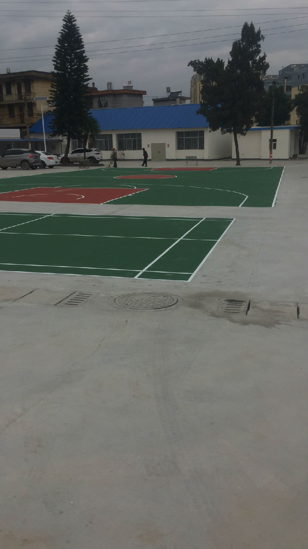 丙烯酸羽毛球场 篮球场