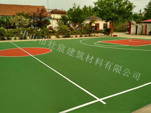 丙烯酸篮球场施工