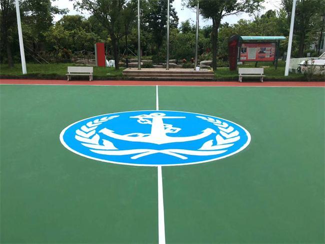 中山篮球场地施工材料