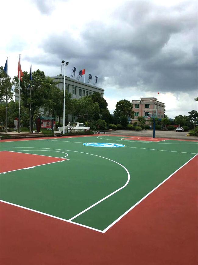 篮球场施工多少钱篮球场多少平方一个