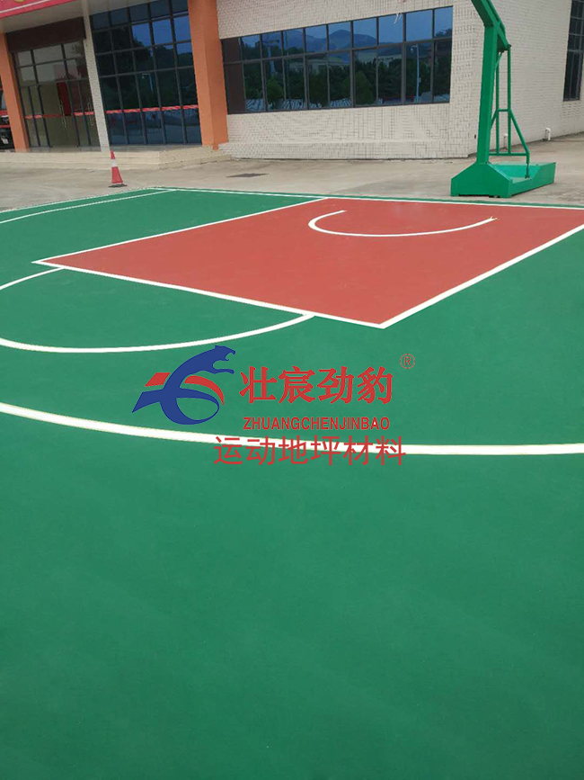 彩色丙烯酸篮球场材料施工厂家