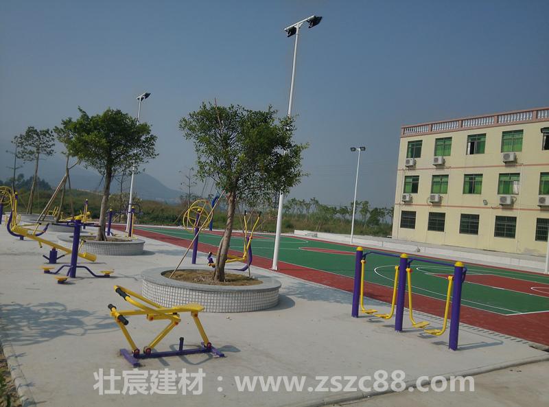 珠海沙石村健身广场