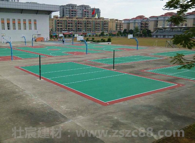 南朗云衢中学塑胶排球场地