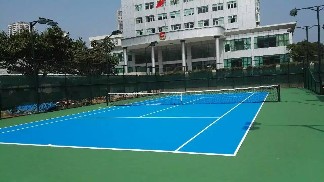 珠海市地税局体育场-硬地丙烯酸网球场