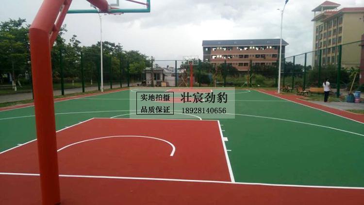 珠海市香洲区唐家湾镇广东瑞华集团公司丙烯酸篮球场地坪