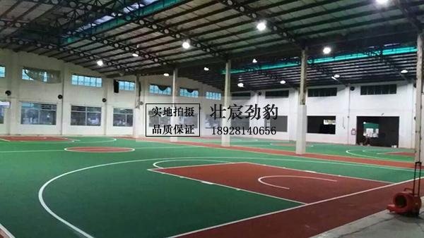 室内丙烯酸篮球场地-汕尾市海丰县星期日体育俱乐部篮球馆