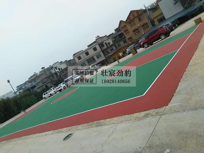 贵州省贵阳市花溪区陈亮村村委丙烯酸篮球场项目