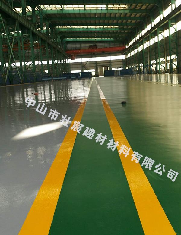 珠海华诺滋汽车设计服务有限公司车间地坪漆工程