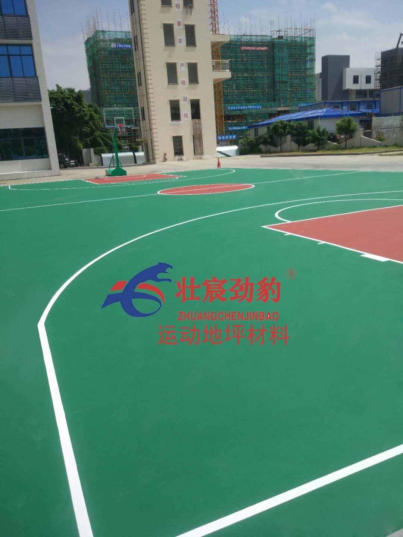 唐家港消防队水性丙烯酸篮球场施工流程及施工方案