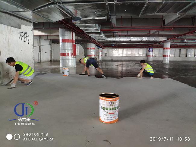 珠海地下车库地坪漆|耐磨地下车库地坪漆|珠海环氧地坪漆|停车场地面油漆