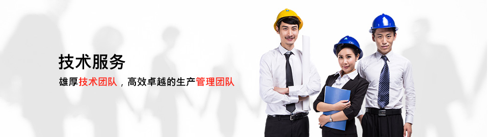 雄厚技术团队,高效卓越的生产管理团队